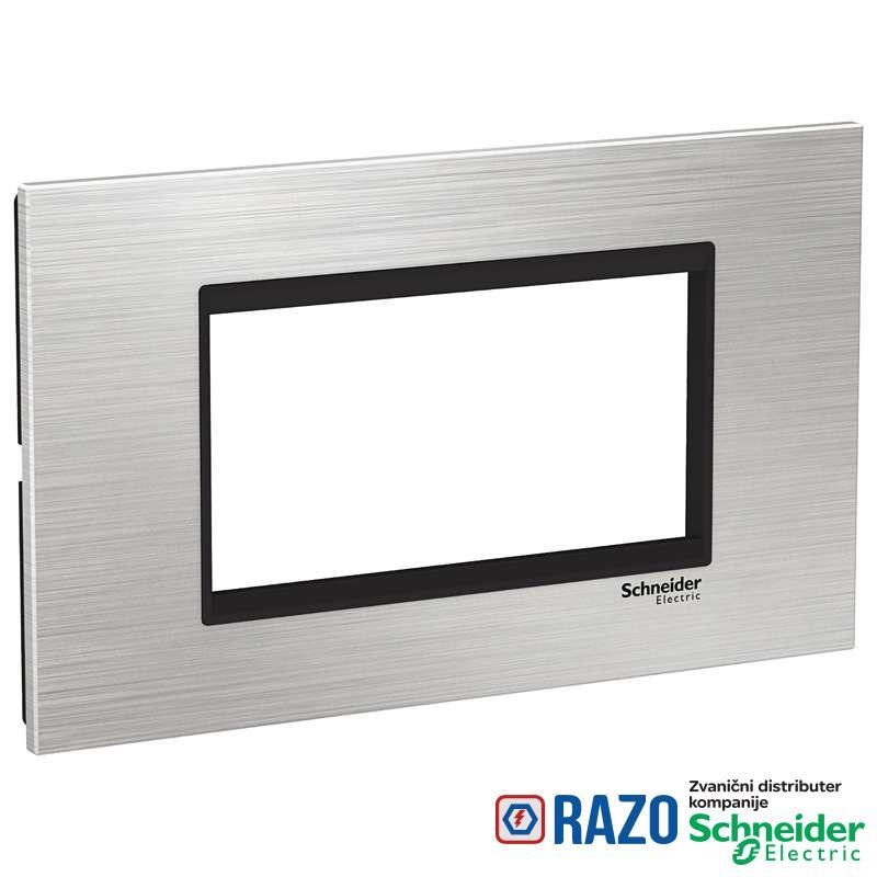Easy Styl Dekorativni ram inox 4M srebrna/crna