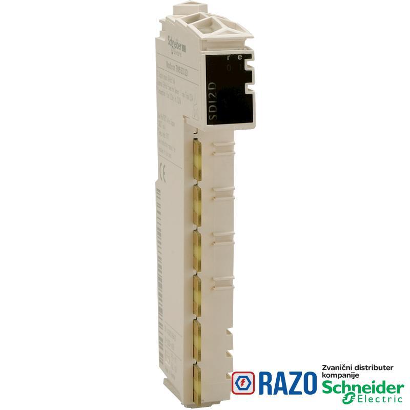 digitalni ulazni modul - 12I - 24V DC sink - 1-žični