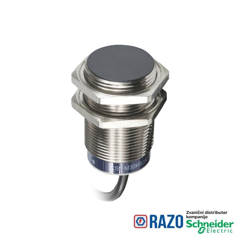 induktivni senzor XS1 M30 - D60mm - mesing - Sn10mm - 24..240VAC/DC - kabl 2m