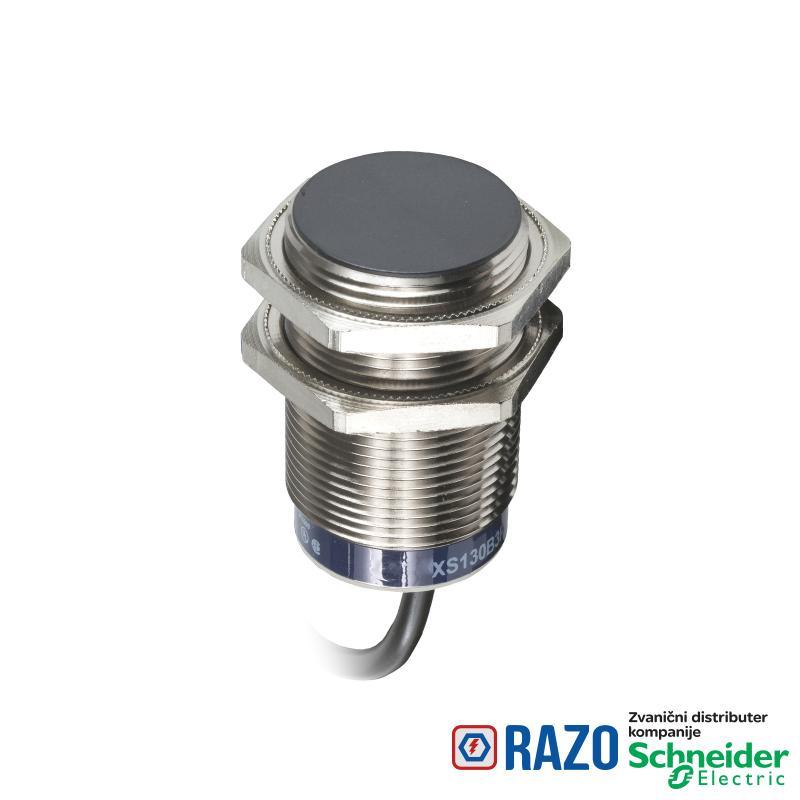 induktivni senzor XS5 M30 - D43mm - mesing - Sn10mm - 12..24VDC - kabl 2m