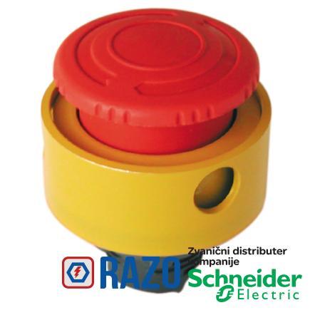 žuti zaštitni prsten za Ø22 taster za nužno isključenje